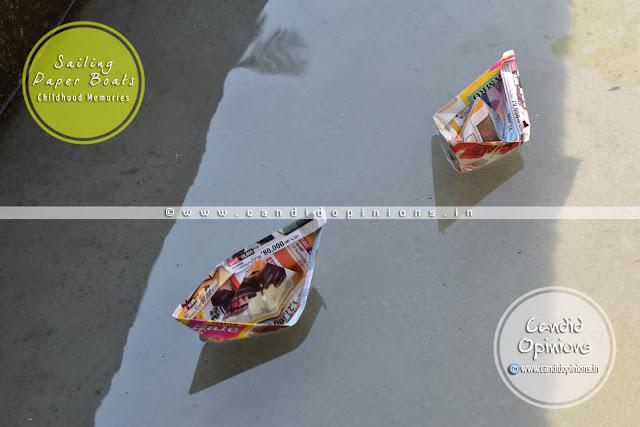 Sailing Paper Boats