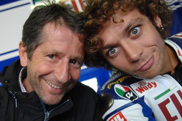 Ayah Valentino Rossi, Kecelakaan