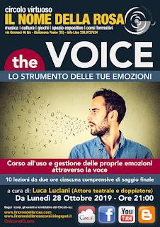 THE VOICE Lo strumento delle tue emozioni