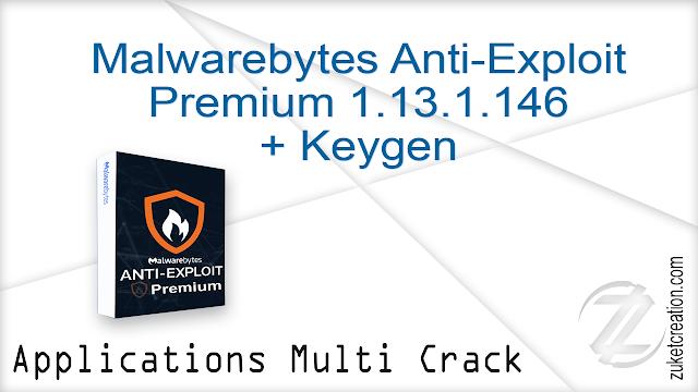 Malwarebytes Anti-Exploit Premium 1.13.1.146 + Keygen