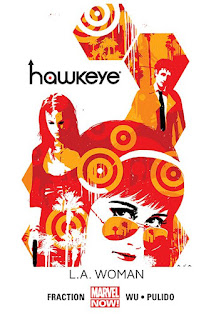 Hawkeye tom 3: L.A. Woman okładka
