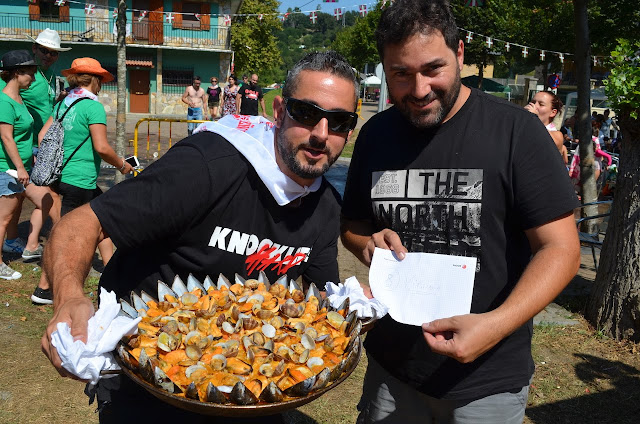 concurso de paellas de Gorostiza