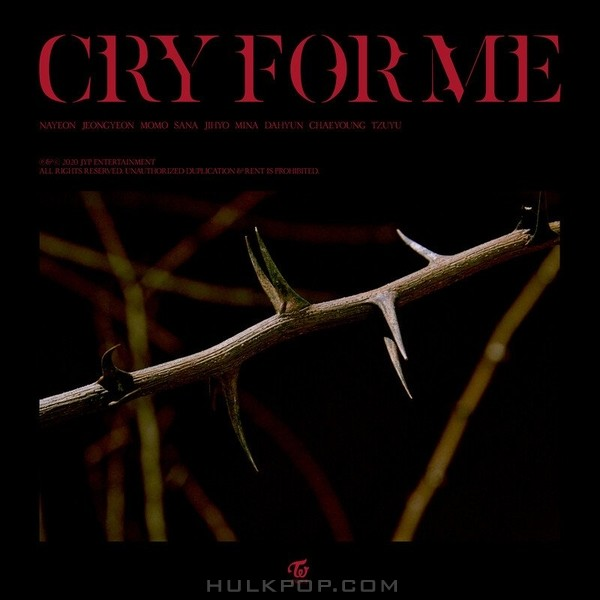 TWICE – CRY FOR ME – Single