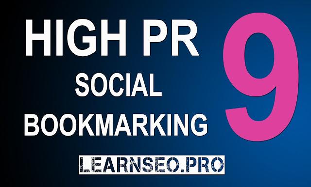 HIGHPR 9 Social Bookmarking Sites