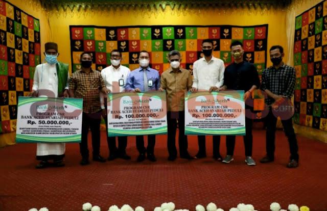 CSR Bank Aceh Syariah untuk Pemberdayaan Ekonomi Umat di Aceh Utara