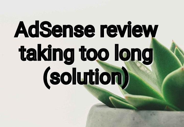 Adsense review taking too long (solution)