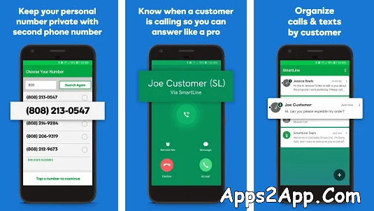 GoDaddy SmartLine Second Phone Number APK 4.31.0 APK Latest