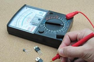 alat ukur arus listrik amperemeter