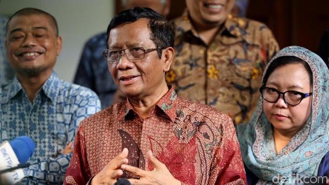 Mahfud Md ke Prabowo: Mengabdi Tak Harus Jadi Presiden