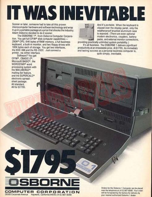 Laptop pertama dijual dengan berat 2kg