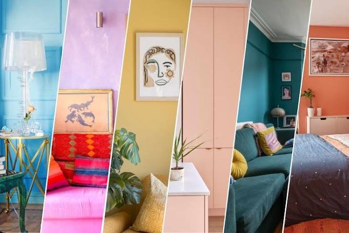 Dünyadan Renkli Evler