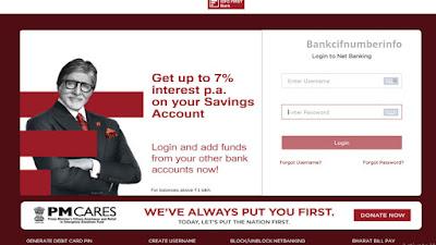 IDFC first bank mini statement - Internet Banking