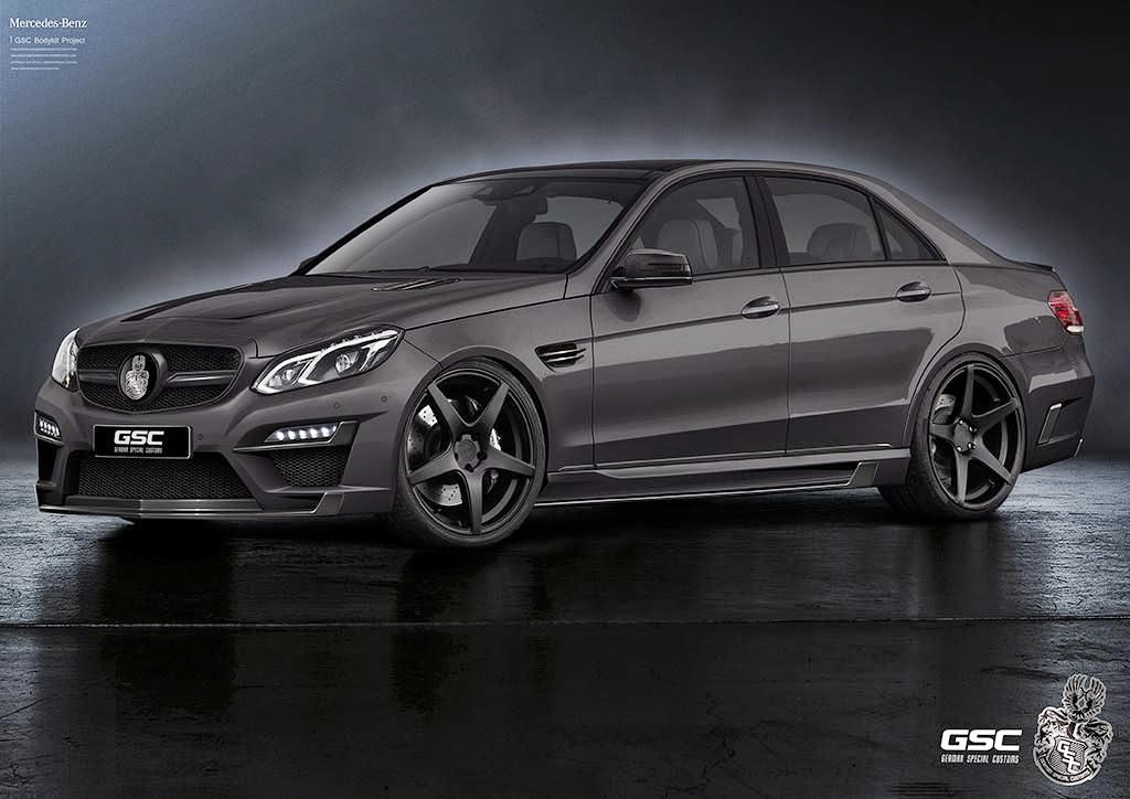 mercedes benz e class w212 facelift by gsc benztuning. Black Bedroom Furniture Sets. Home Design Ideas