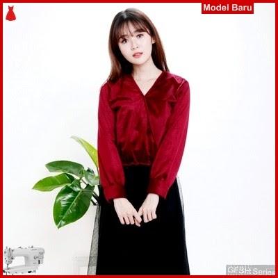 GFSH2049204 Setelan Luxury Top Terbaru Velvet Keren BMG