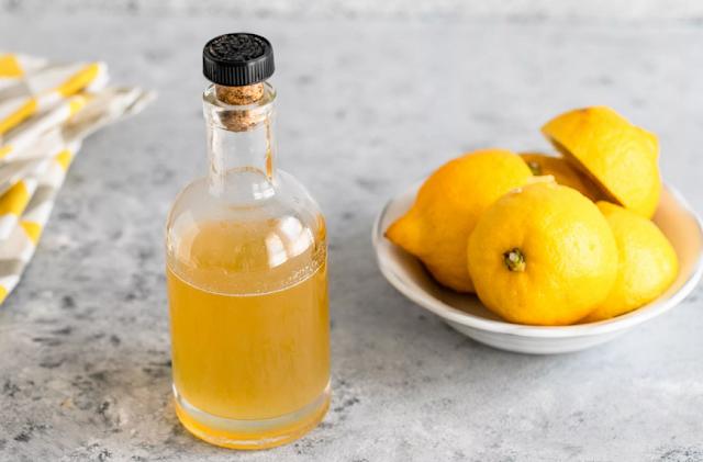 домашний сироп из лимонов