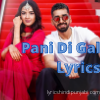 Maninder पानी di gal lyrics | Asees Kaur