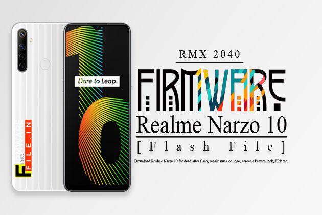 Realme Narzo10 Firmware [Flash File] RMX 2040