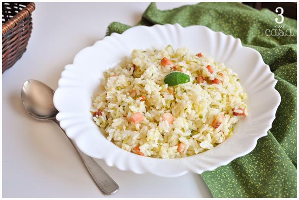 como fazer arroz abobrinha