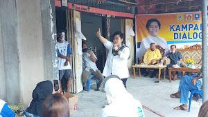 Di Kampanye Dialogis Pendukung Diajak Satukan  Hati Menangkan AMA-UKP