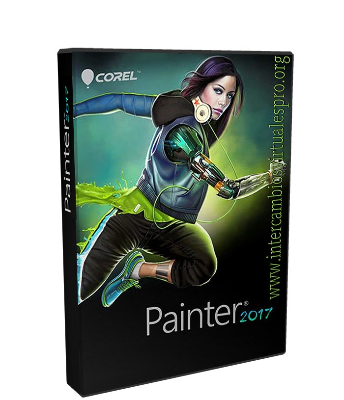 Corel Painter 2017 16.1.0.456 poster box cover