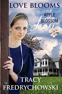 Love Blooms at the Apple Blossom Inn book promotion by Tracy Fredrychowski