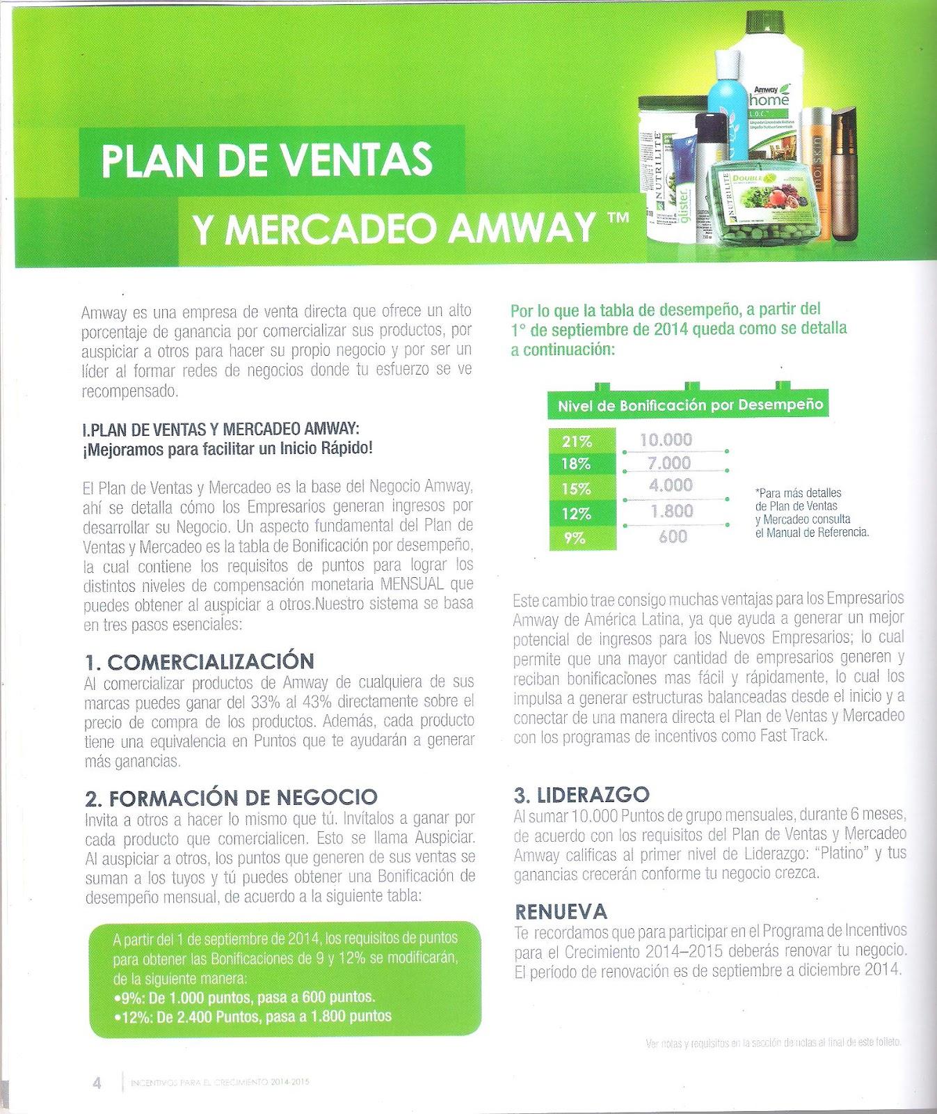 amway de venezuela plan de negocios amway