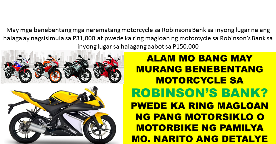 Second Hand Motorcycle For As Low As P31k Or Loan A