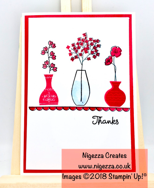 Stampin' Up!® Varied Vases and New In Colours
