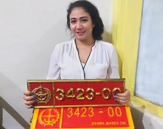 POM TNI Tangkap Pelaku Yang Menggunakan Plat Dinas Palsu 3423-00