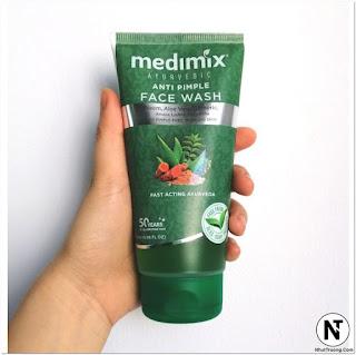 Sữa Rửa Mặt Medimix Anti Pimple Ngừa Mụn