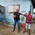 Delegacia Regional distribui alimentos em bairro de Tobias Barreto