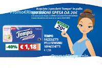 Logo Gioca e vinci con Tempo : in palio 100 buoni spesa Ipersoap e non solo!