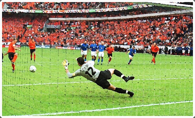 Francesco Toldo Penalty Euro 2000