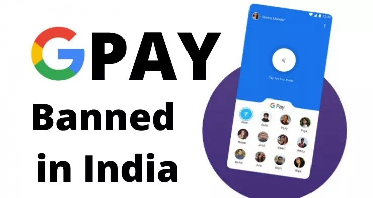 Google Pay Ban in India! Google Pay News by RBI | G pay Ban
