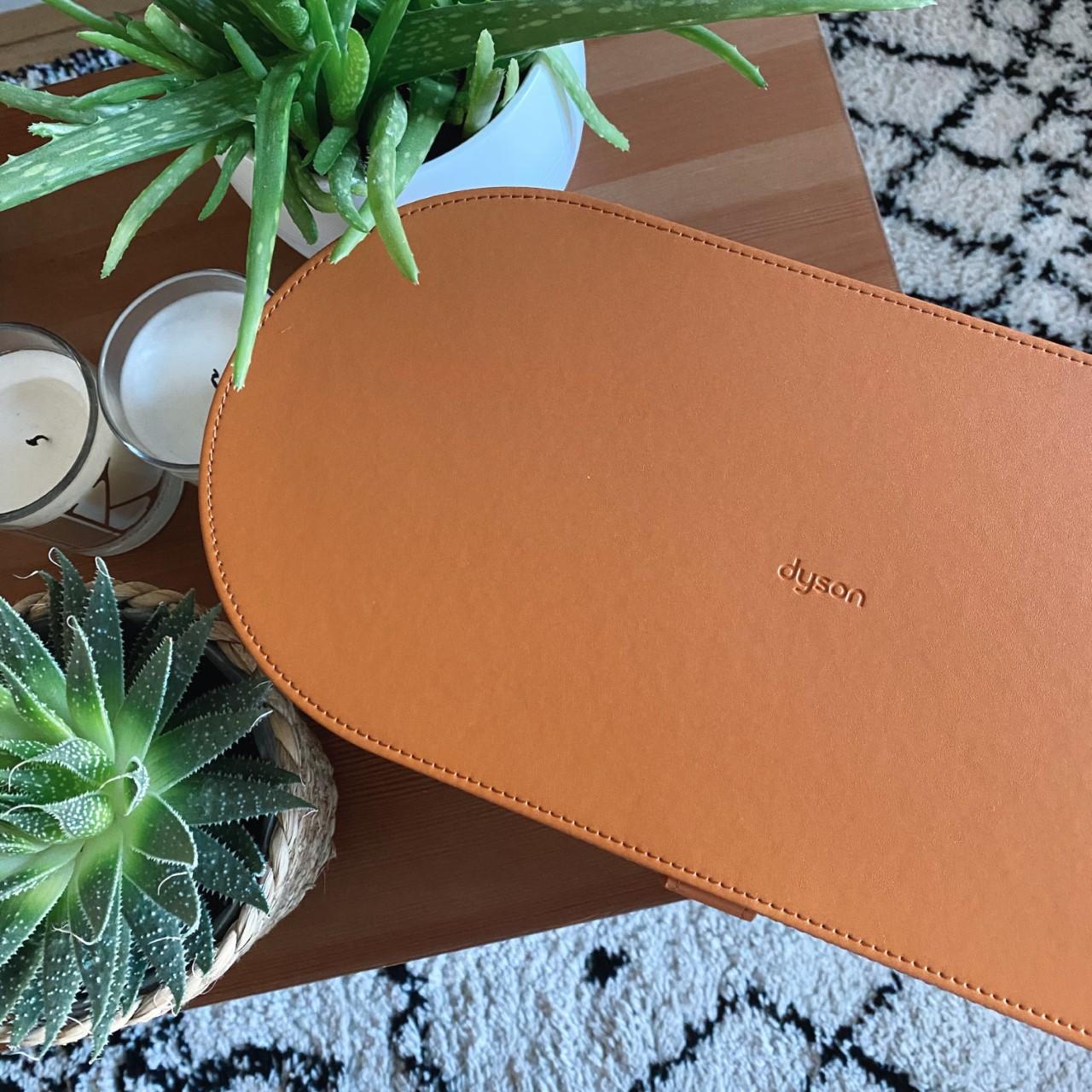 Dyson Airwrap box in tan