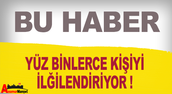 Anamur Haber,