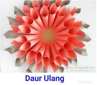 Cara Membuat Bunga Dari Kertas Origami Yang Mudah Daur Ulang