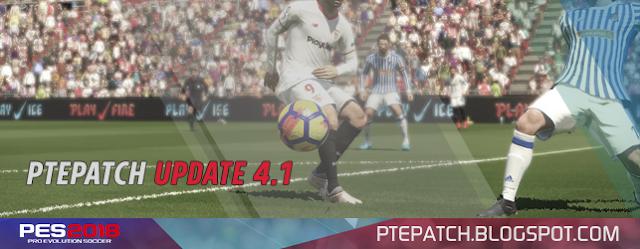 Update Patch PES 2018 Terbaru dari PTE 4.1