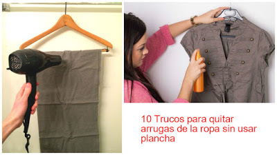 10 TRUCOS PARA QUITAR ARRUGAS DE LA ROPA SIN USAR PLANCHA