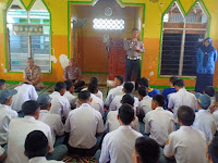 Police Goes To School, ini Himbauan Kasat Lantas Polres Pangkep Ke Para Siswa