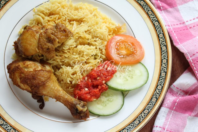 Southern Yellow Chicken Rice Aka Nasi Ayam Goreng Sedap Azie Kitchen