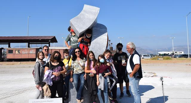 Καλλιτεχνικό Σχολείο Αργολίδας: Επίσκεψη στο 1ο Συμποσίο Γλυπτικής και στην Εθνική Πινακοθήκη