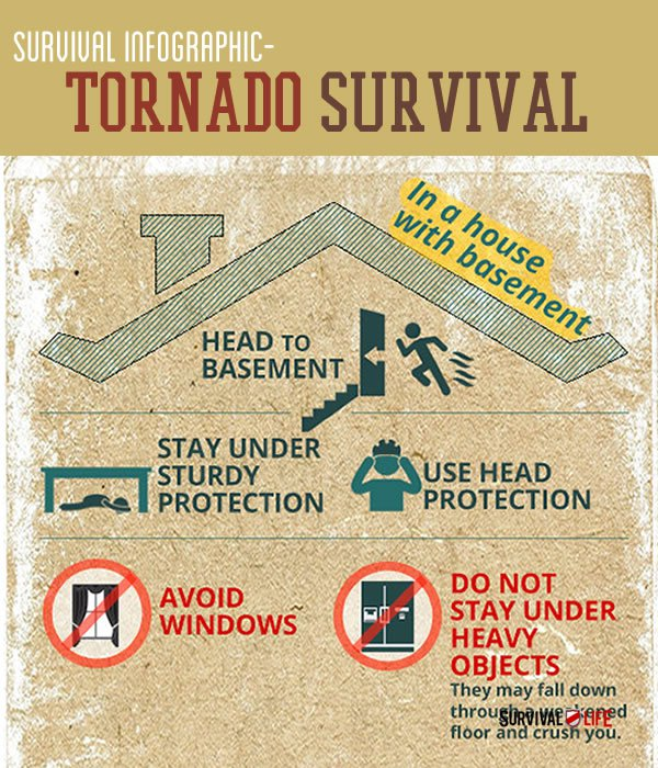 Survival Life Tornado Infographic