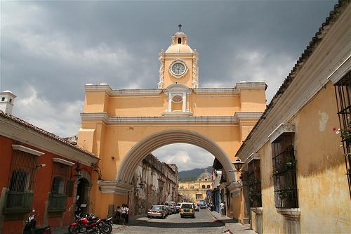 travels the world-Arch of Santa Catalina