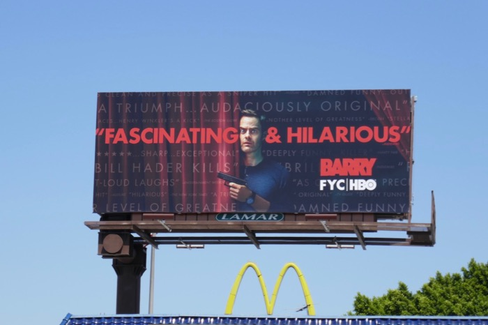 Barry 2019 Emmy consideration billboard