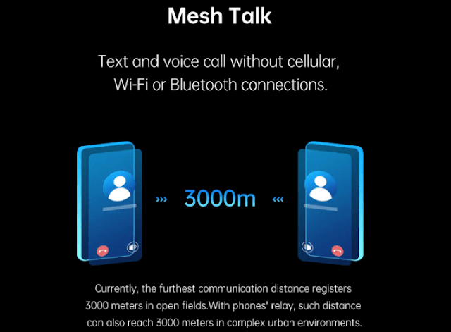 OPPO launches Mesh Talk: Can make calls/SMS even with no carrier or data