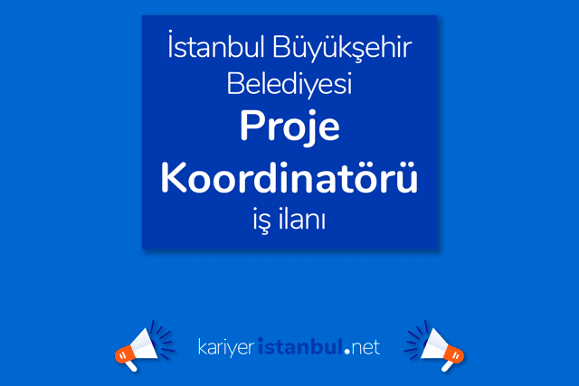 İstanbul Büyükşehir Belediyesi, EuroVelo bisiklet rotası projesi çalışmalarını sürdürecek proje koordinatörü alacak. Detaylar kariyeristanbul.net'te!