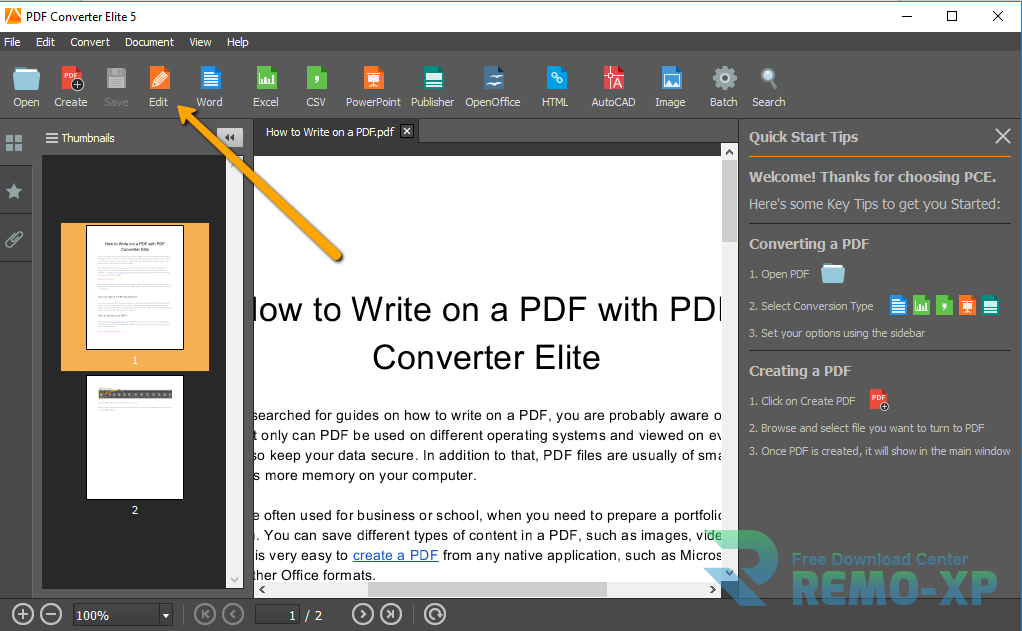 PDF Converter Elite 5.0.7.0 Full Version