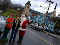 Meeting Santa in Small Town USA