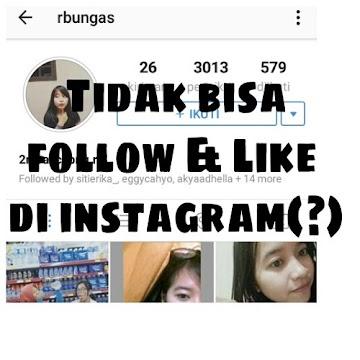 Cara Mengatasi Instagram Tidak Bisa Follow Orang Lain